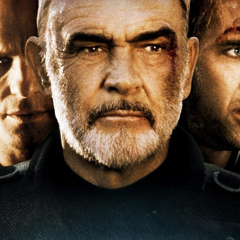 The Rock starring Ed Harris, Sean Connery and Nicolas Cage.
