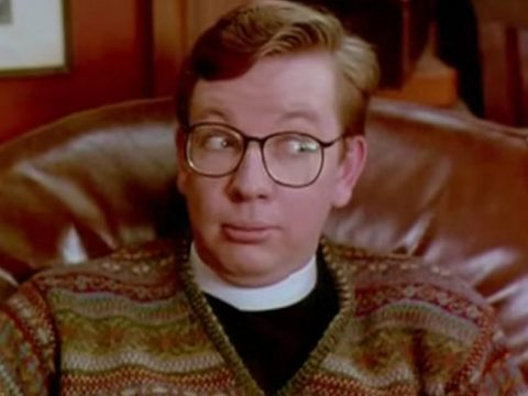 Michael Gove as a vicar in A Feast at Midnight