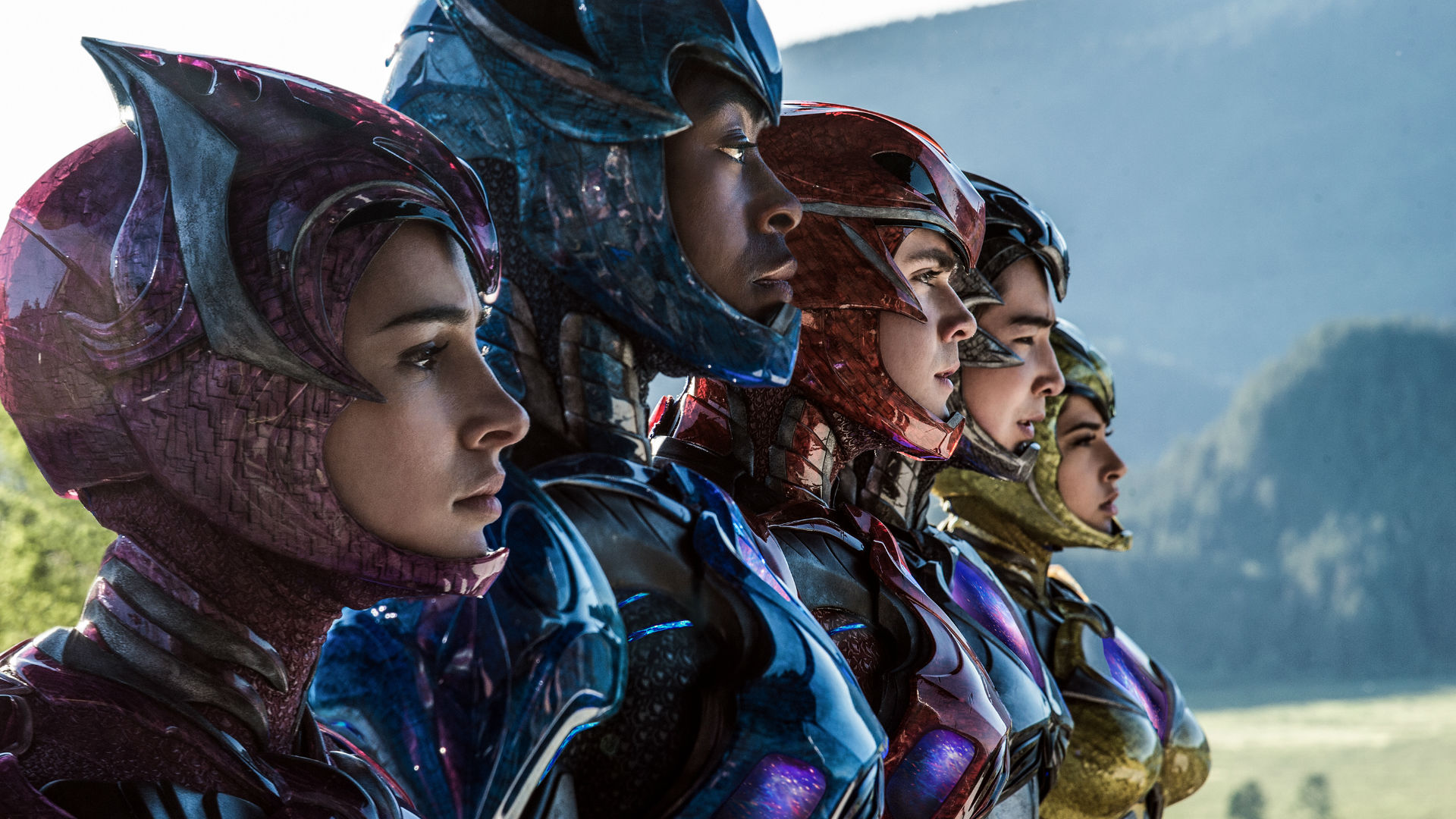 New Power Rangers movie line-up