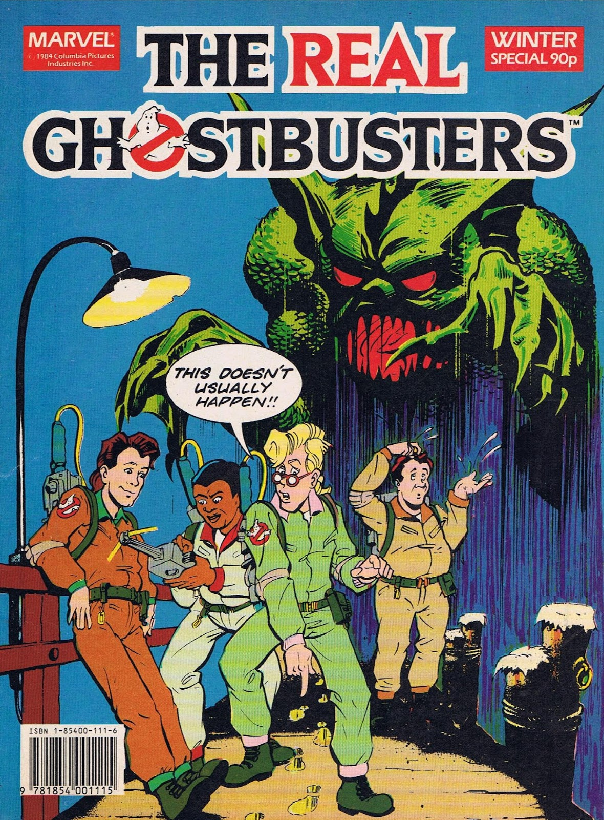 The Real Ghostbusters comic book.