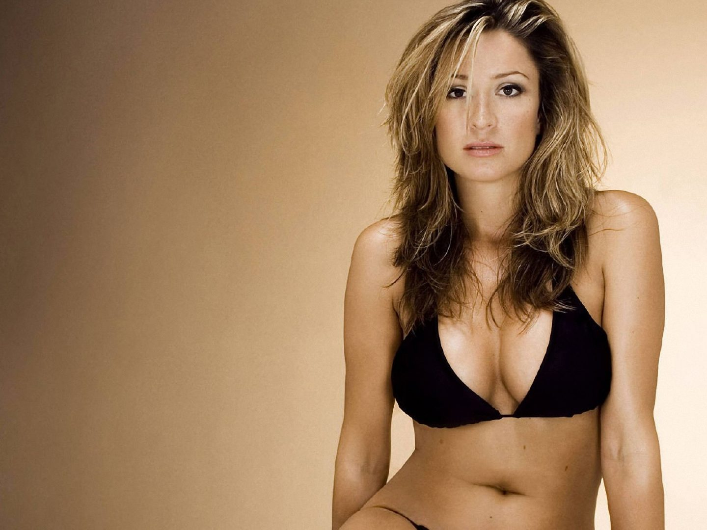 Rebecca Loos poses for a picture.