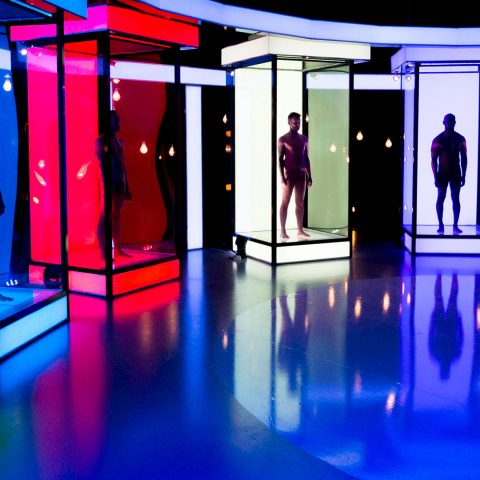 The set for Naked Attraction.