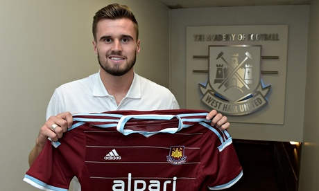 Carl Jenkinson signs for West Ham.