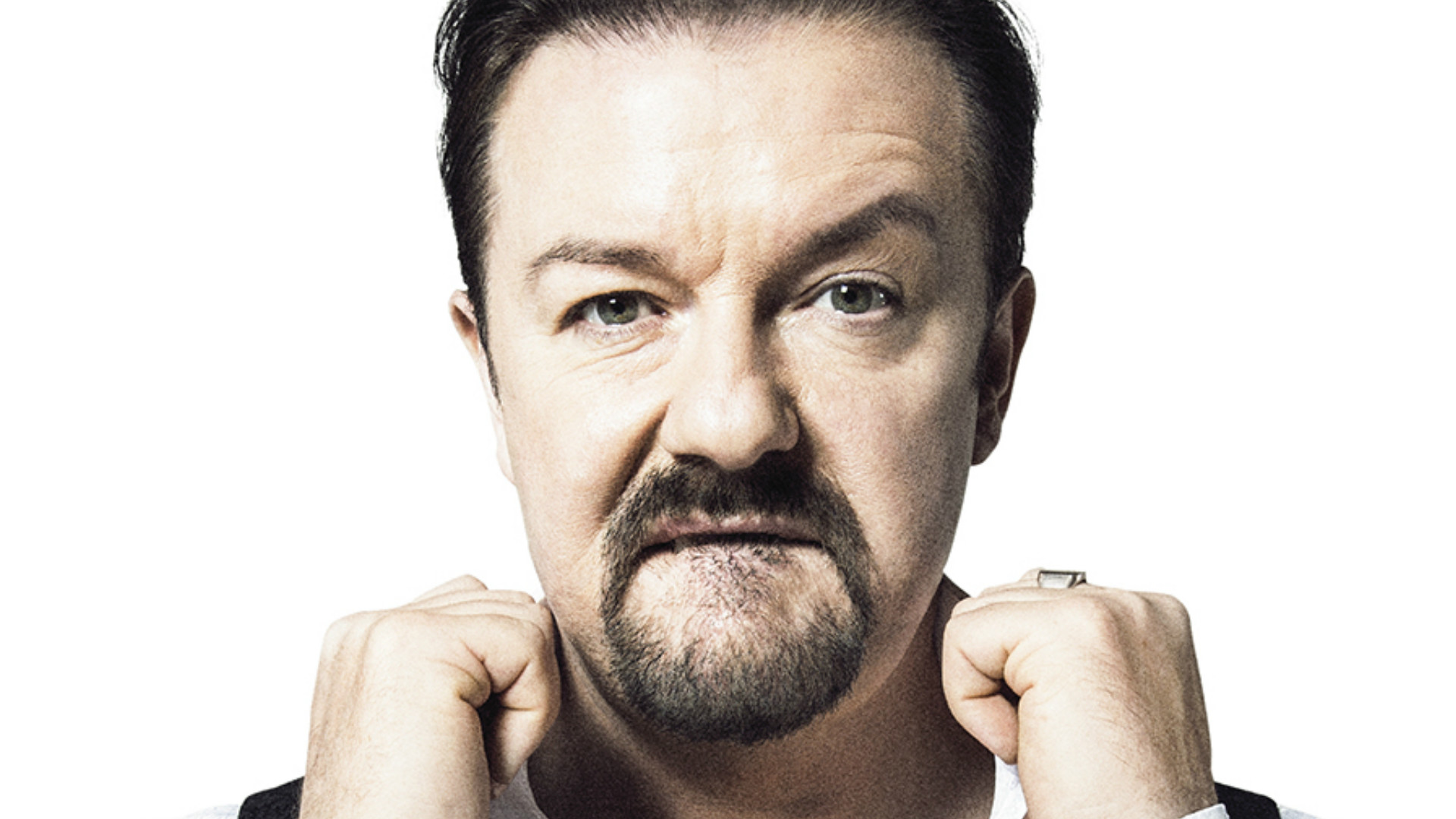 Ricky Gervais in David Brent: Life On The Road