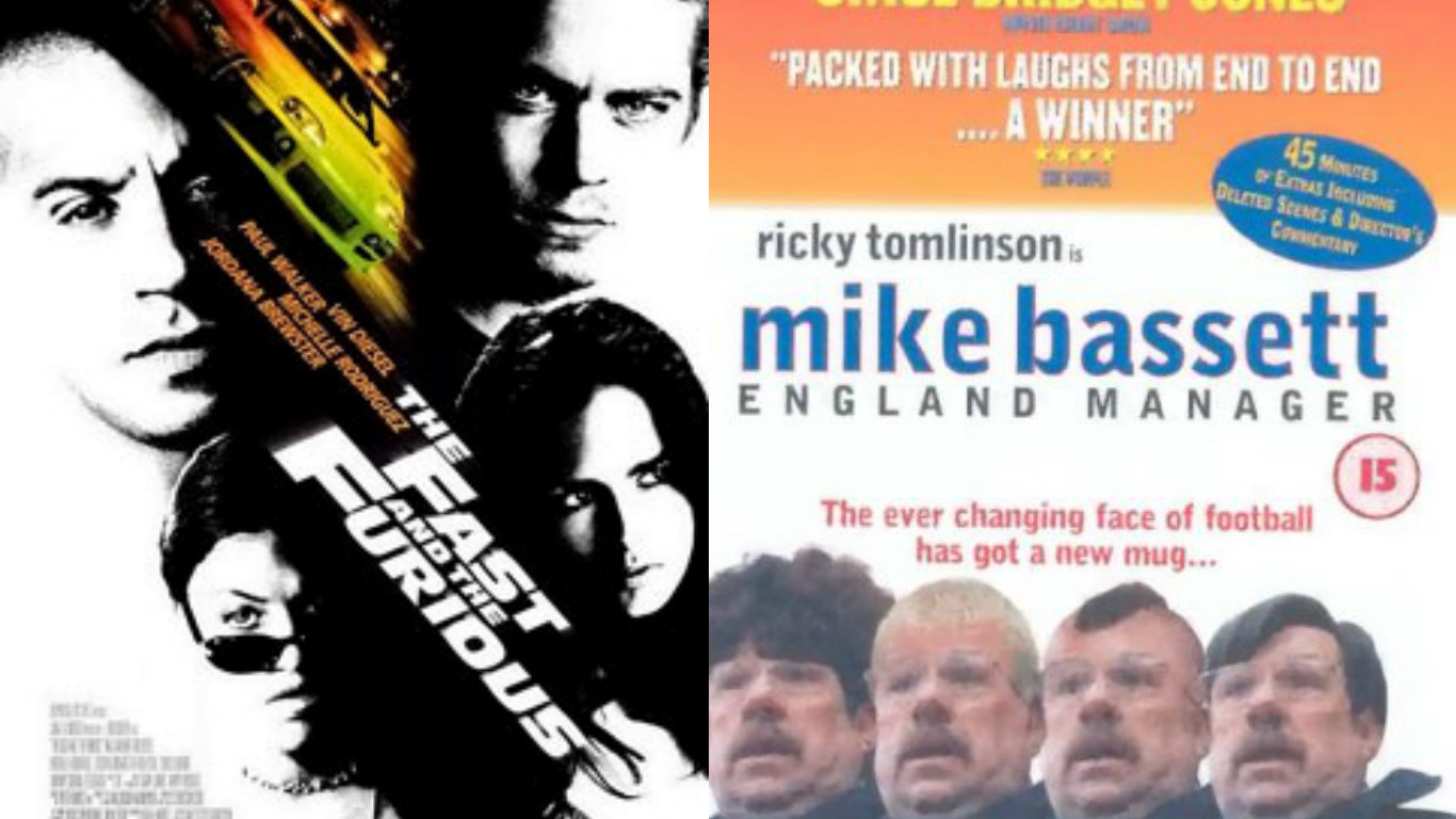 The Fast and the Furious alongside Mike Bassett