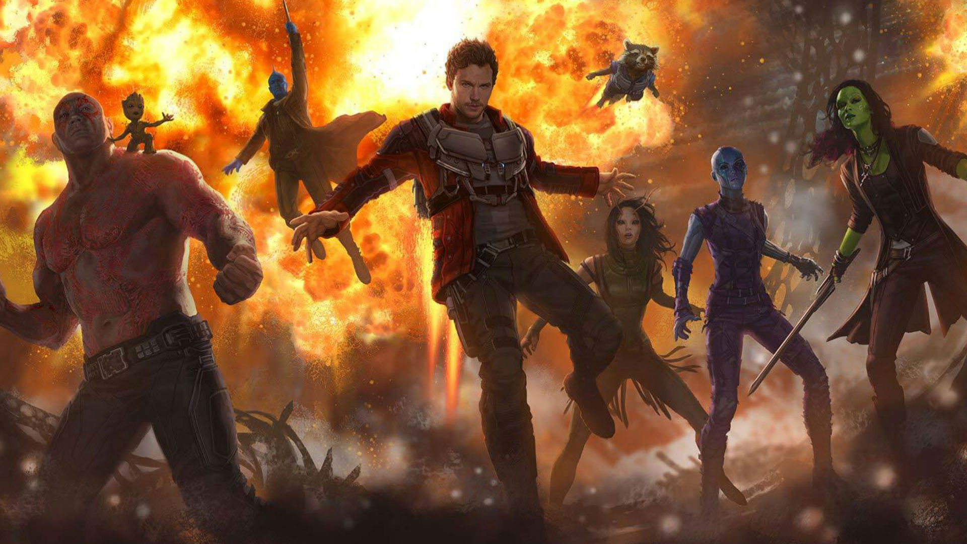 Guardians of the Galaxy Vol 2 concept art