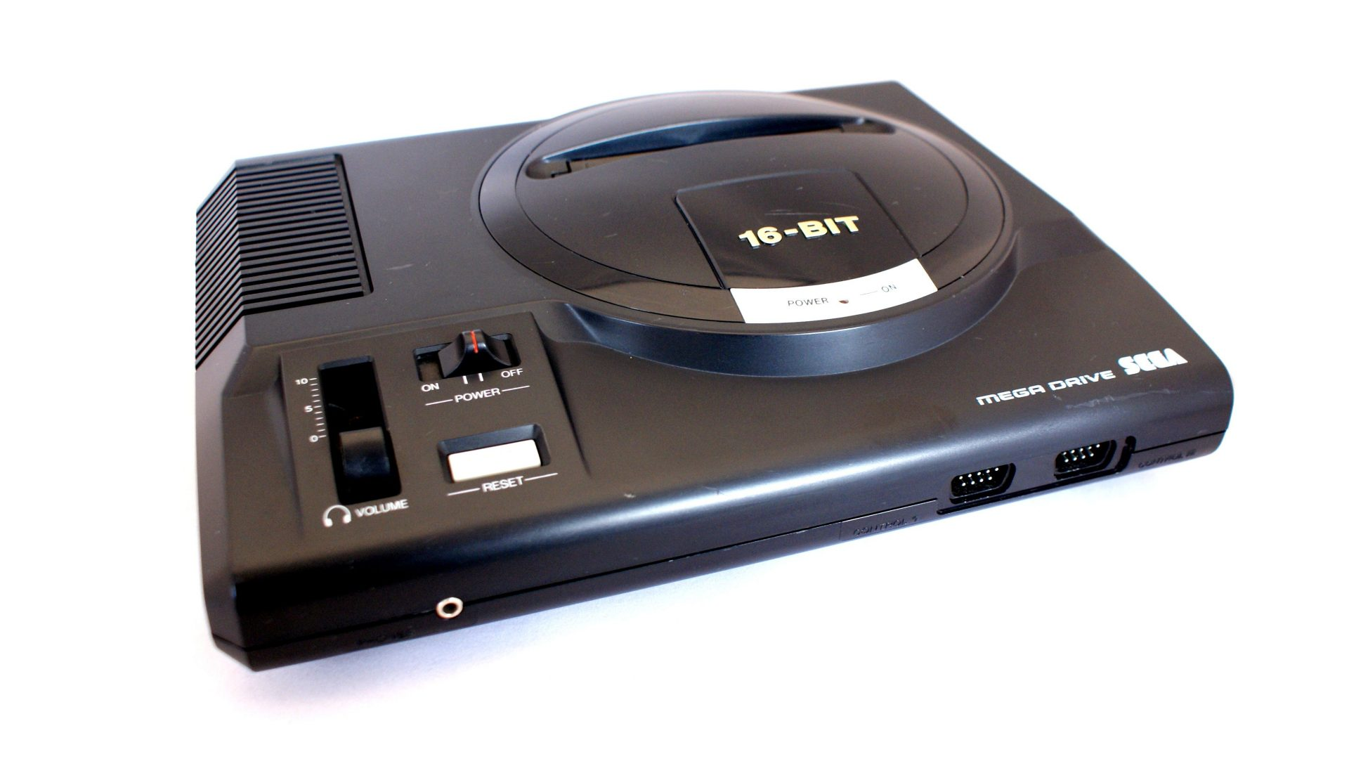The Sega Mega drive in all its glory.