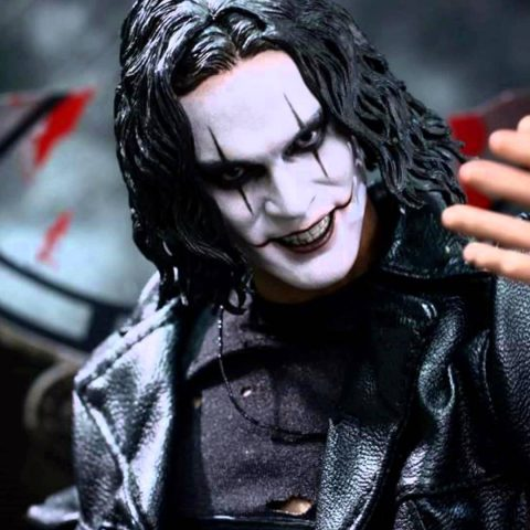 Brandon Lee as the Crow back in 1994.