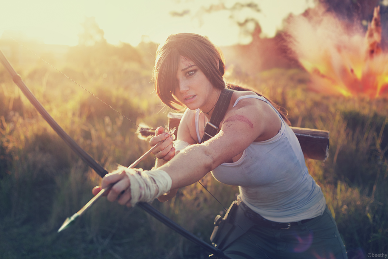 Tomb Raider Lara Croft cosplayer Beethy