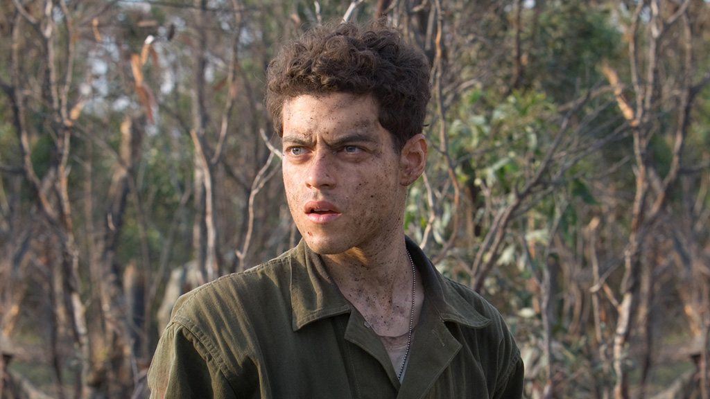 Rami Malek in The Pacific.