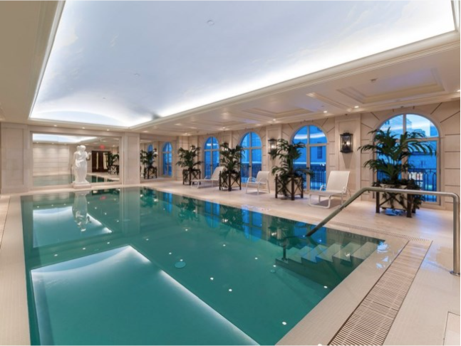 Jennifer Lawrence's soon-to-be-sold apartment.
