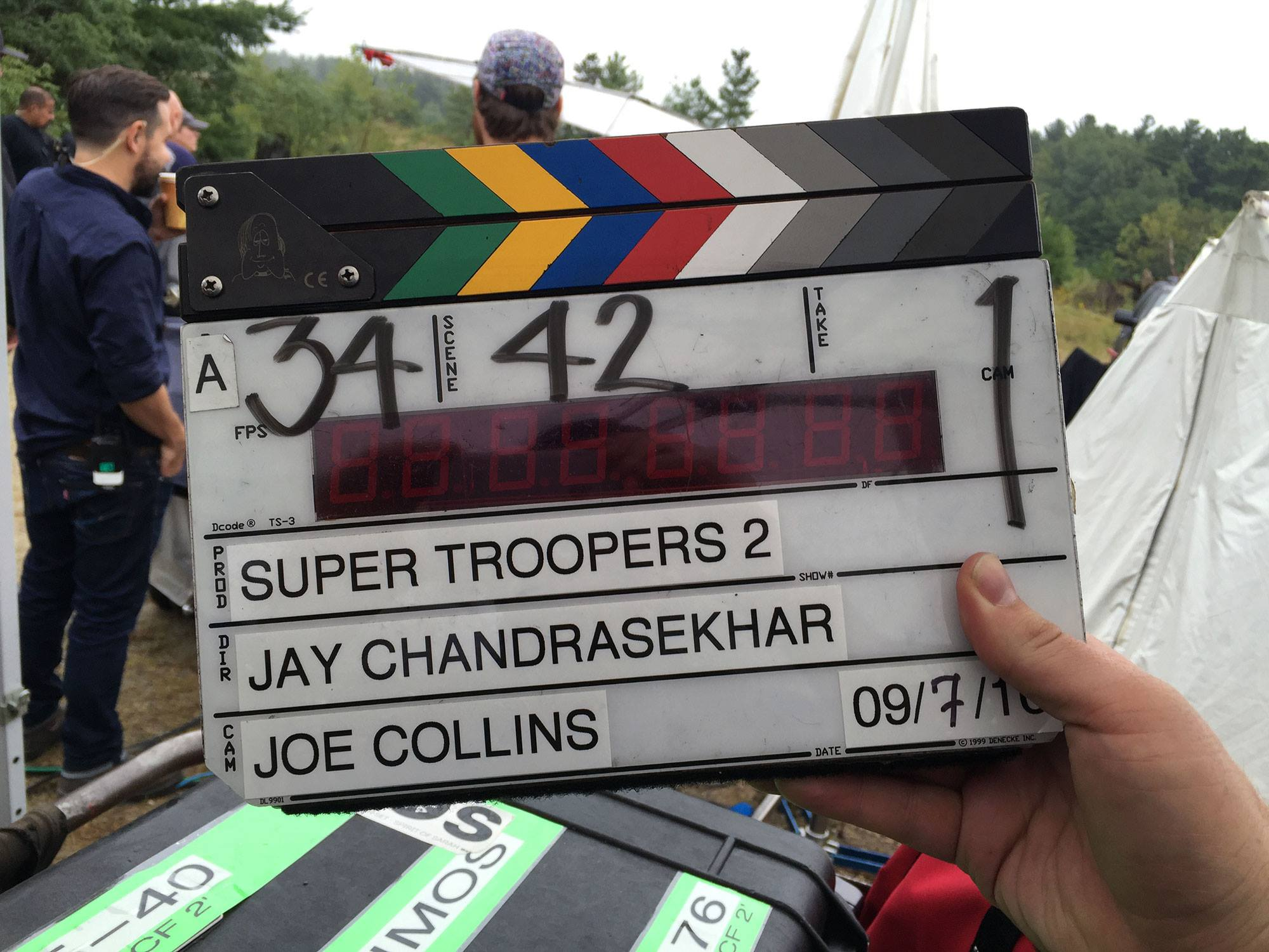Super Troopers 2 has started filming.