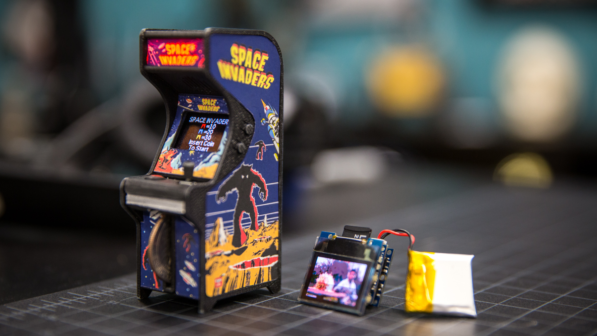 Tiny Arcade machines