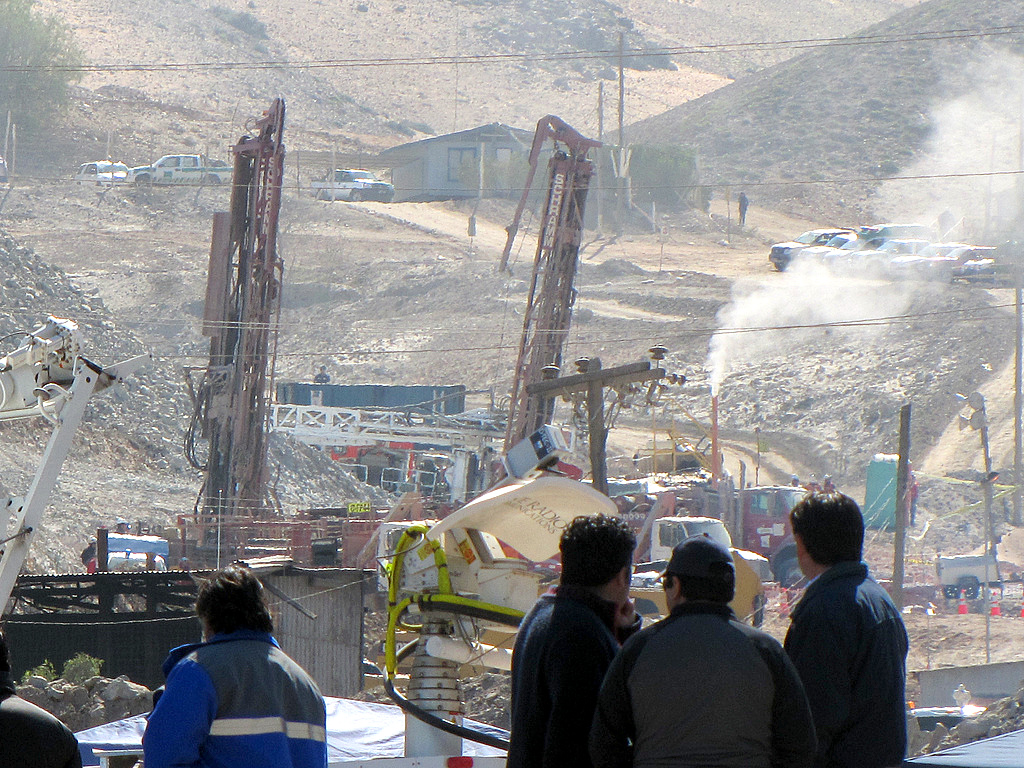 Chilean miners crisis.