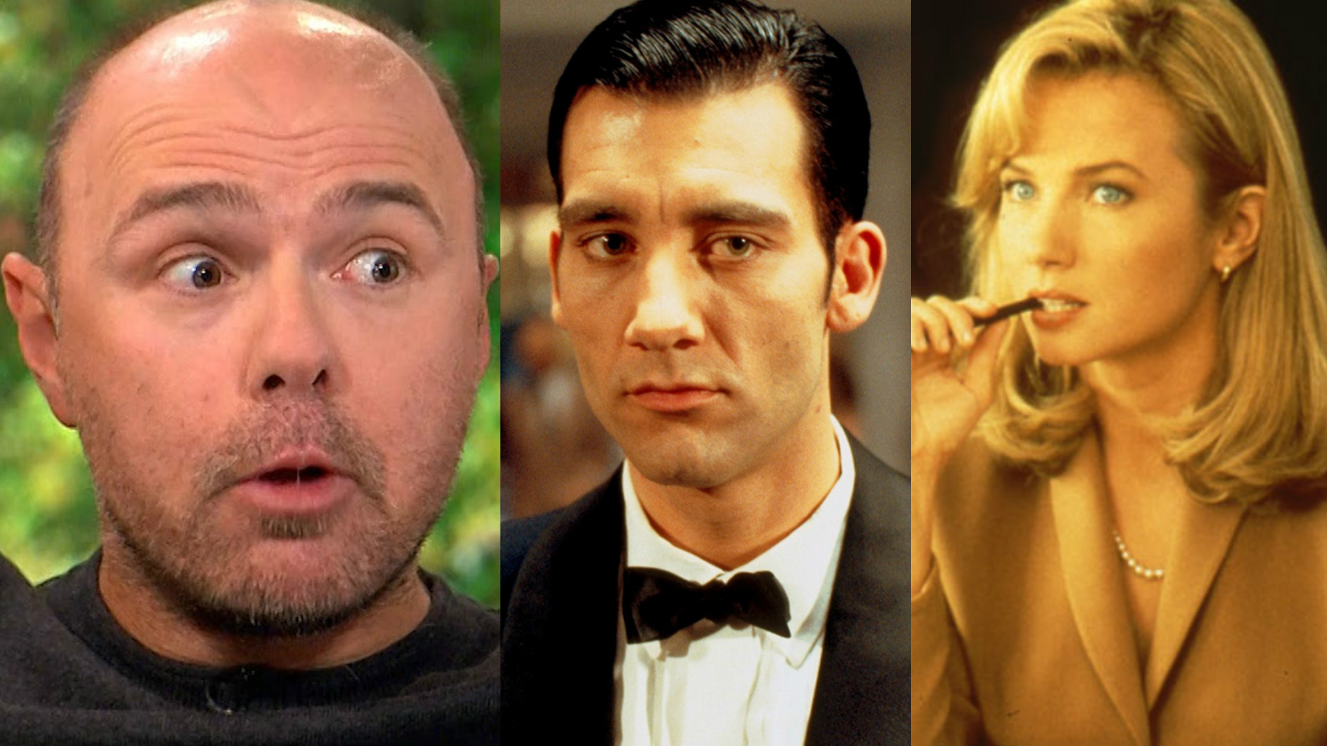 Karl Pilkington's A Love of Two Brains film pitch with Clive Warren (aka Clive Owen) and Rebecca De Mornay