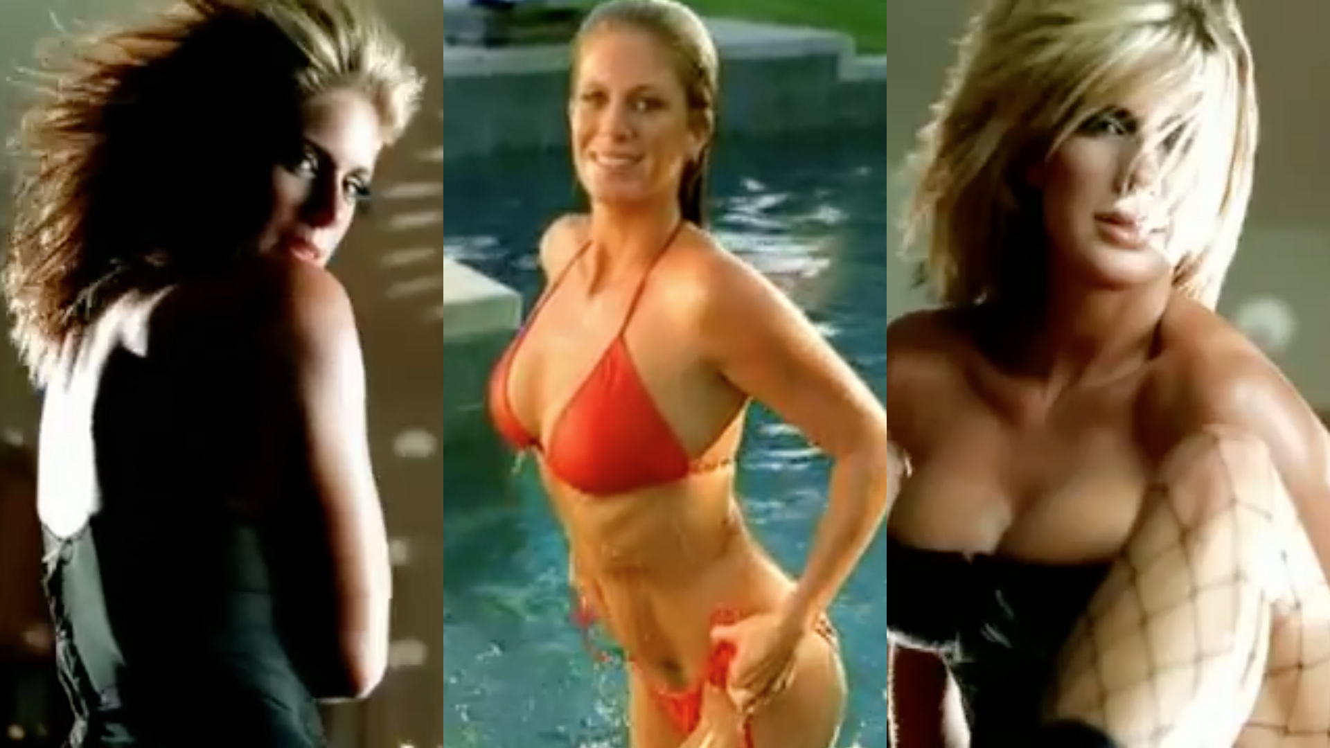 Rachel Hunter in Fountain's of Wayne's Stacey's Mom music video