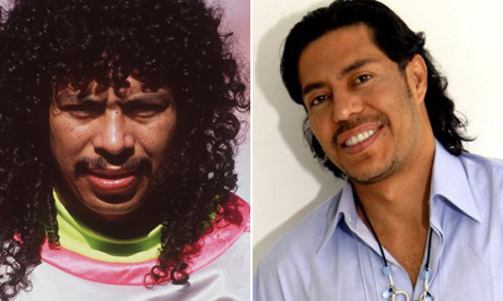 Rene Higuita before and after.