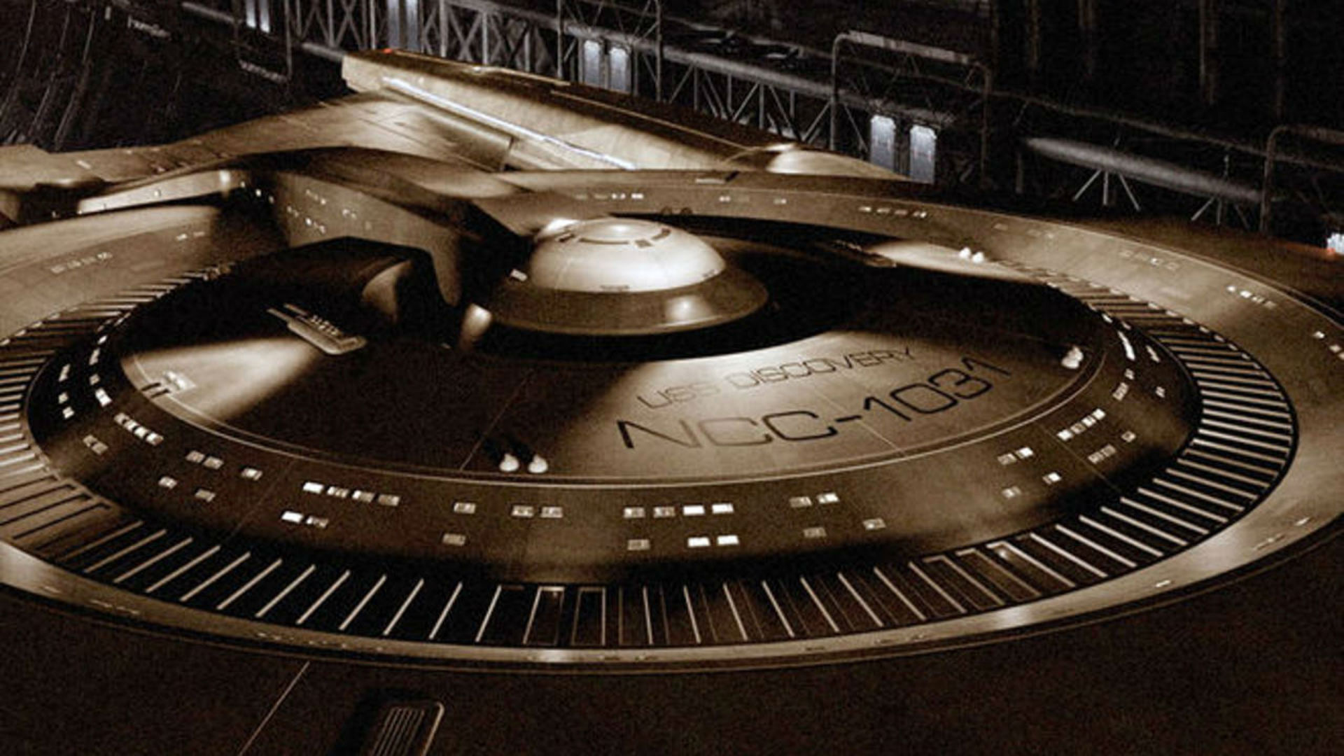 Star Trek Discovery ship NCC-1031 USS Discovery