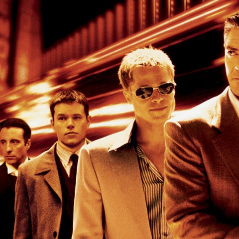 George Clooney and the Ocean's Eleven gang
