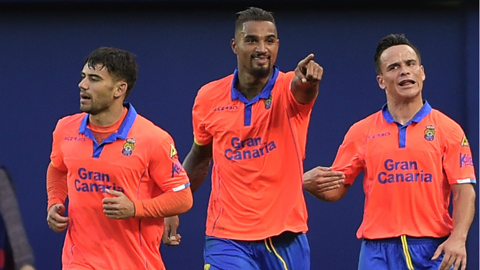 Kevin-Prince Boateng in action for Las Palmas