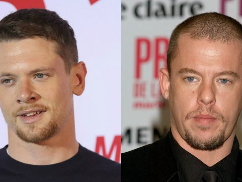 Jack O'Connell and Alexander Mcqueen