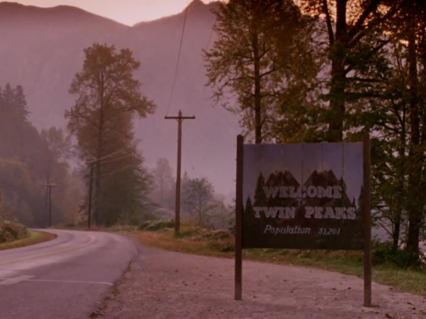 Opening credits for Twin Peaks