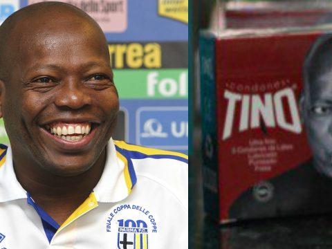 Faustino Asprilla flavoured condoms