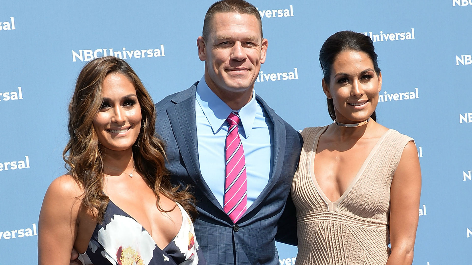 John Cena and The Bella Twins