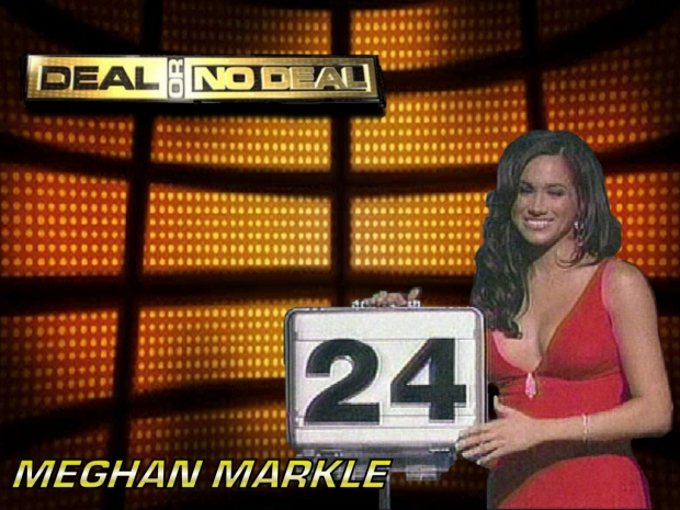 Meghan Markle on Deal or No Deal.