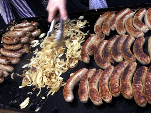Sausages barbecue