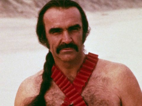 A strong look for Movember? Sean Connery in Zardoz