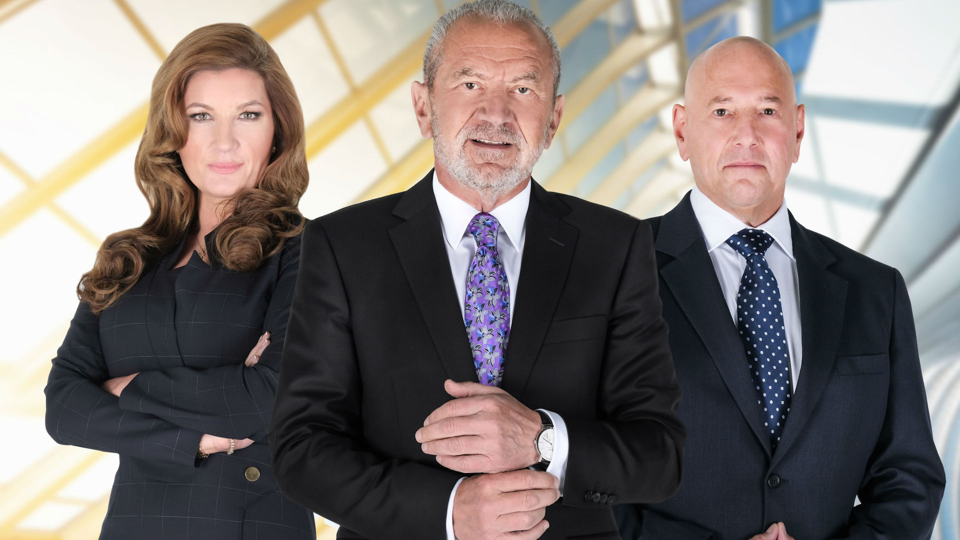 The Apprentice Karren Brady Lord Sugar Claude Littner