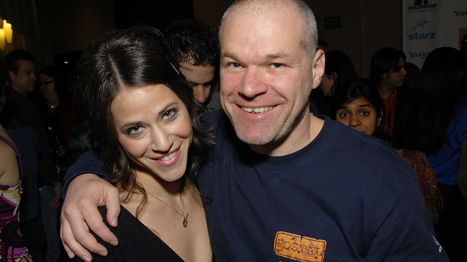 Director Uwe Boll and actress Jackie Tohn