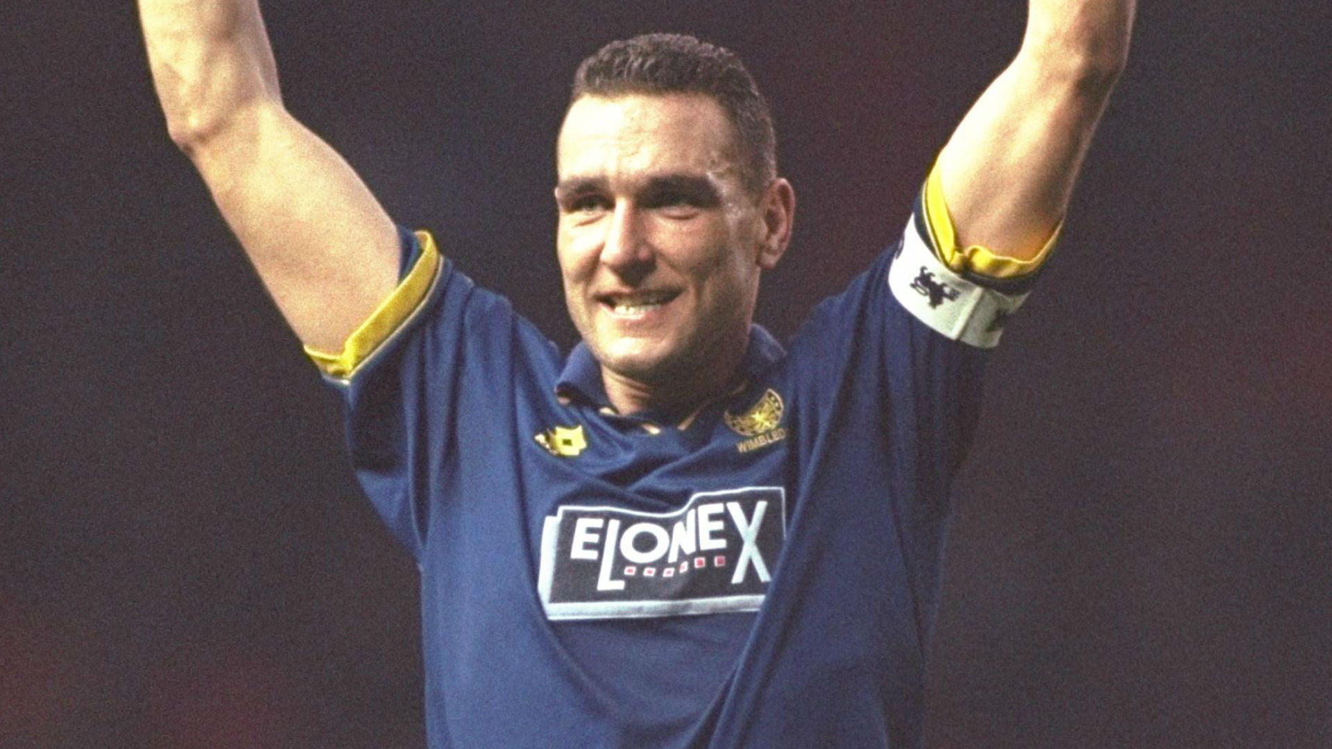 Vinnie Jones in action for Wimbledon