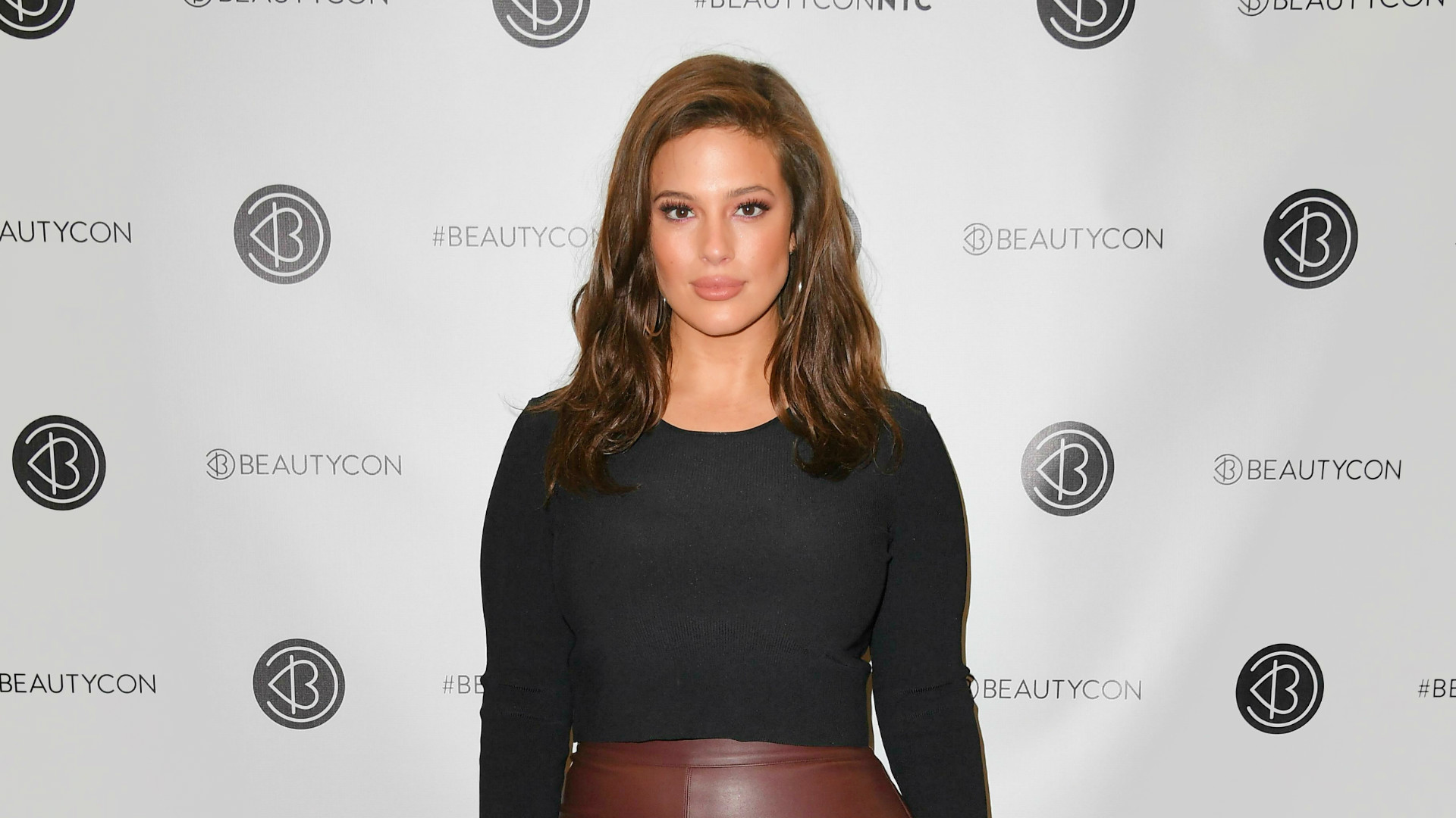 Model and body activist Ashley Graham.