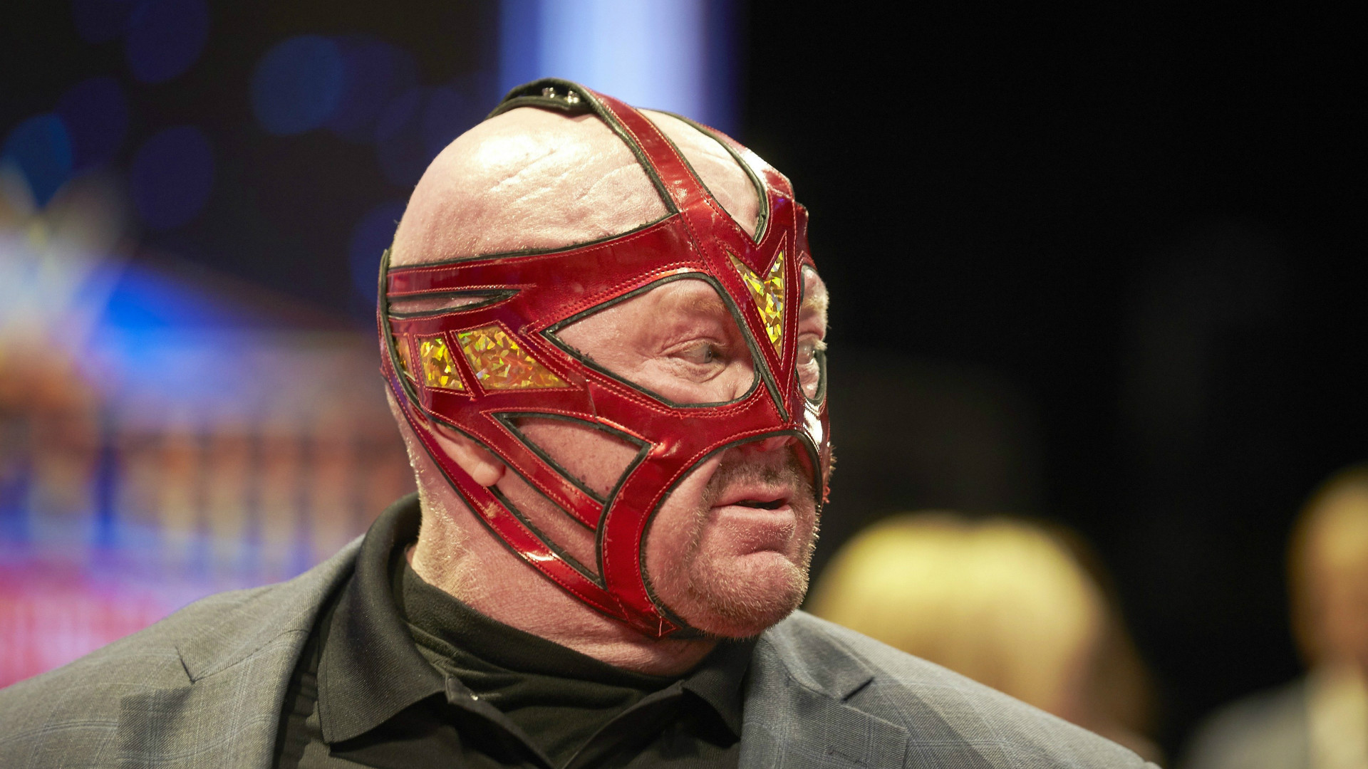 WWE and WCW icon Big Van Vader.