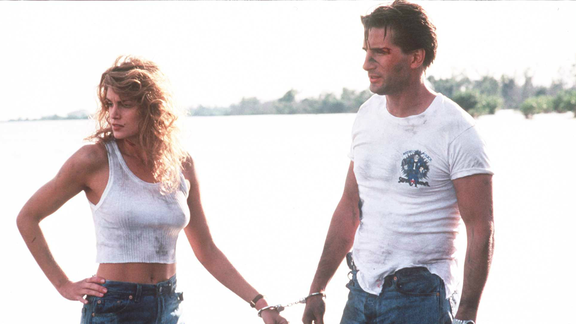 Cindy Crawford and William Baldwin in Fair Game