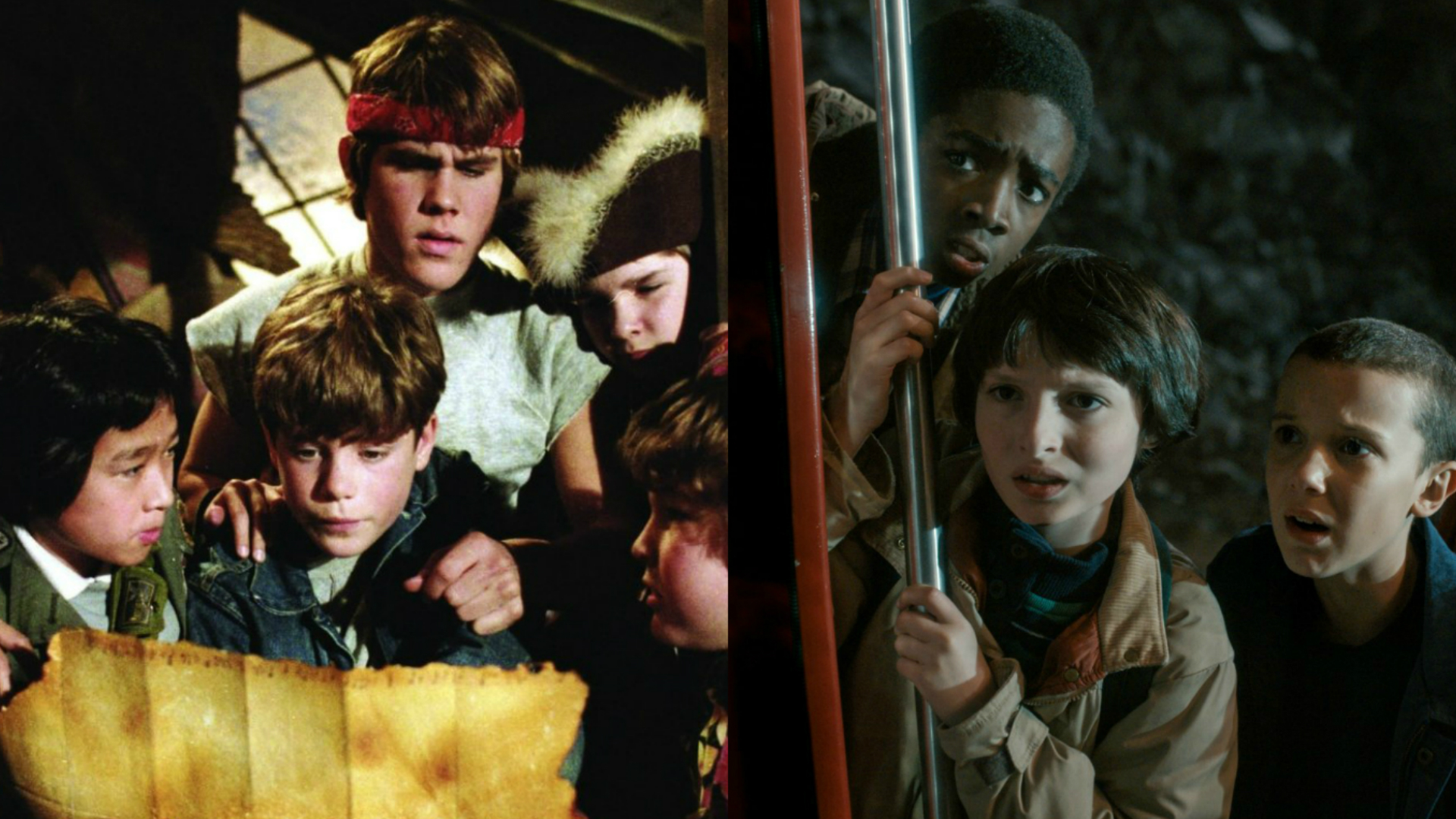 Goonies meets Stranger Things