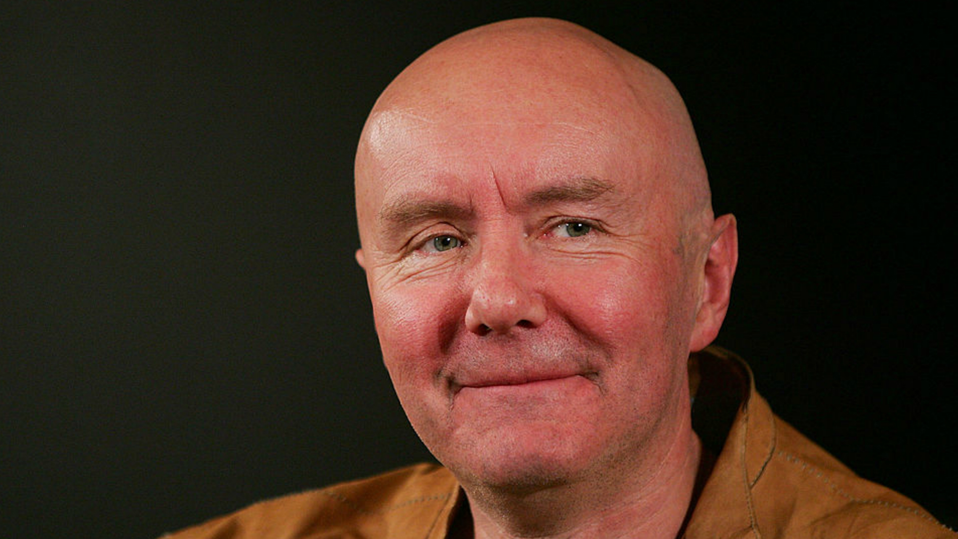 Transporting author Irvine Welsh