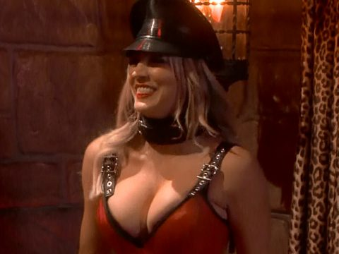 Kaley Cuoco Big Bang Theory bondage outfit