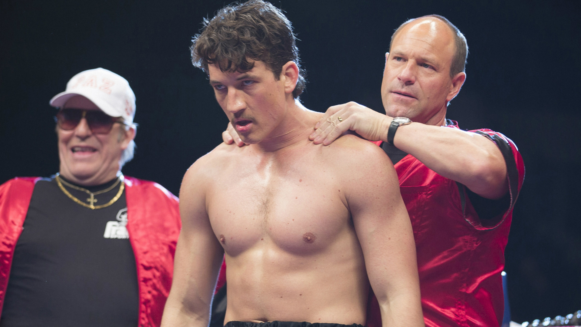Bleed For This Miles Teller and Aaron Eckhart