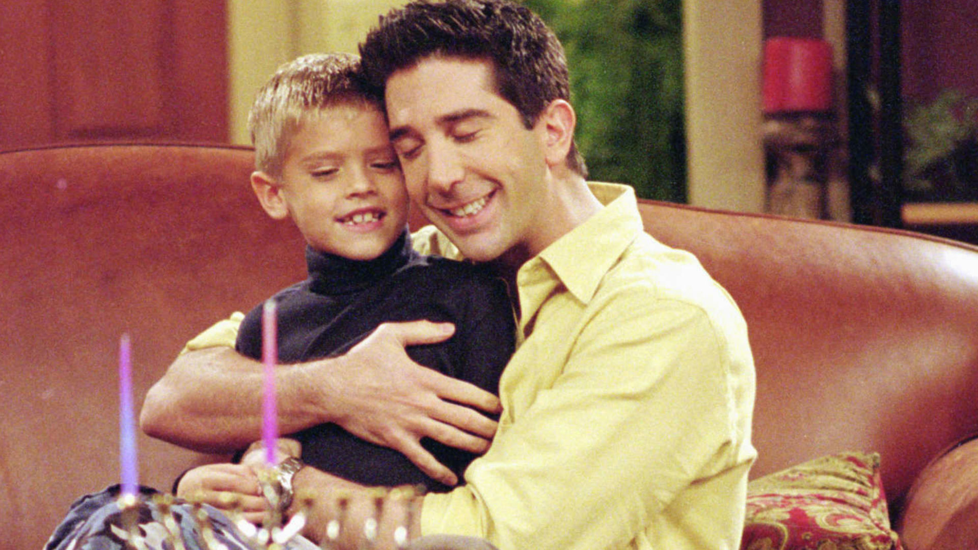 David Schwimmer as Ross in Friends
