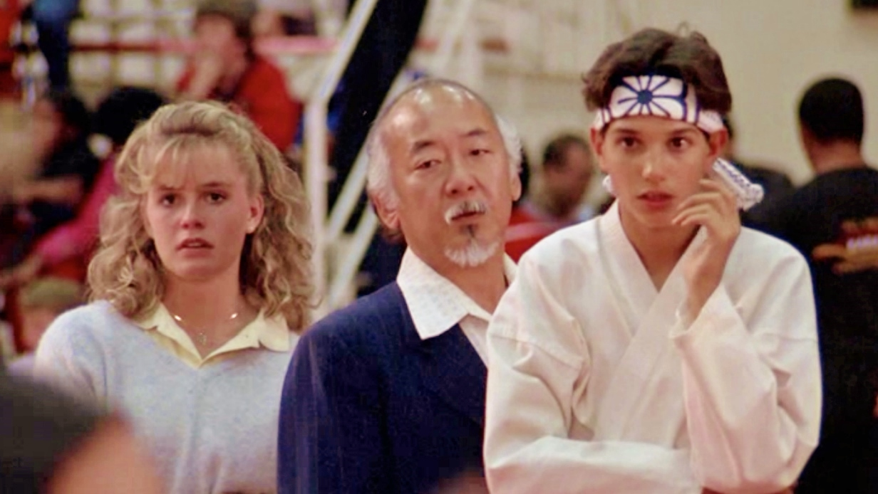 The cast of Karate Kid