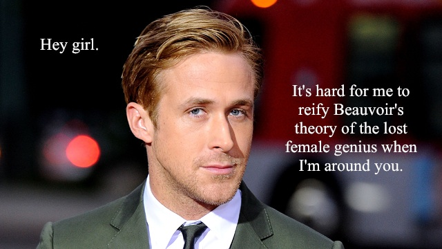 Ryan Gosling's face is good for feminism