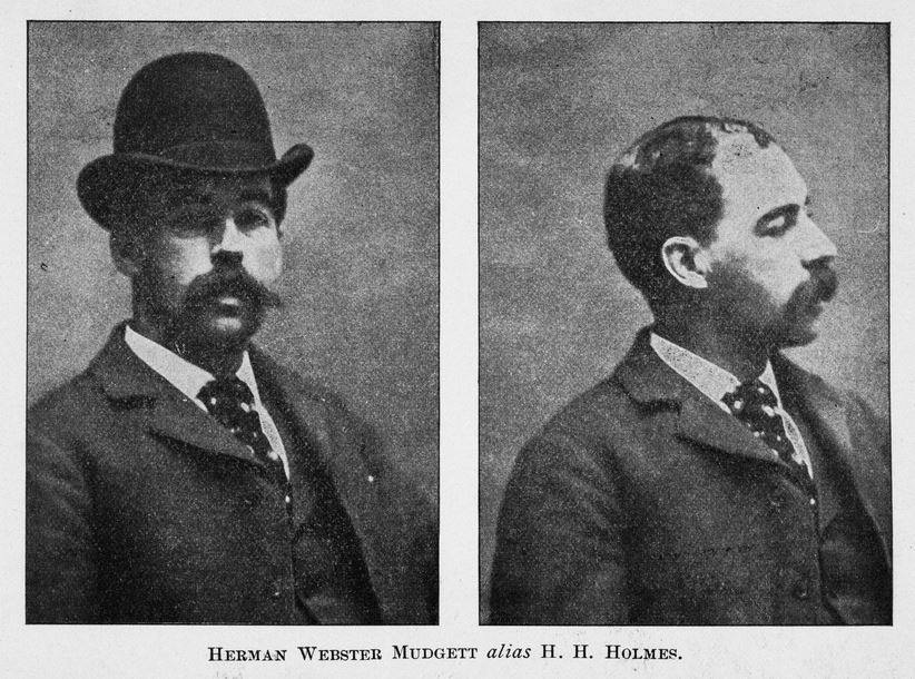 H.H. Holmes at the time of his arrest.