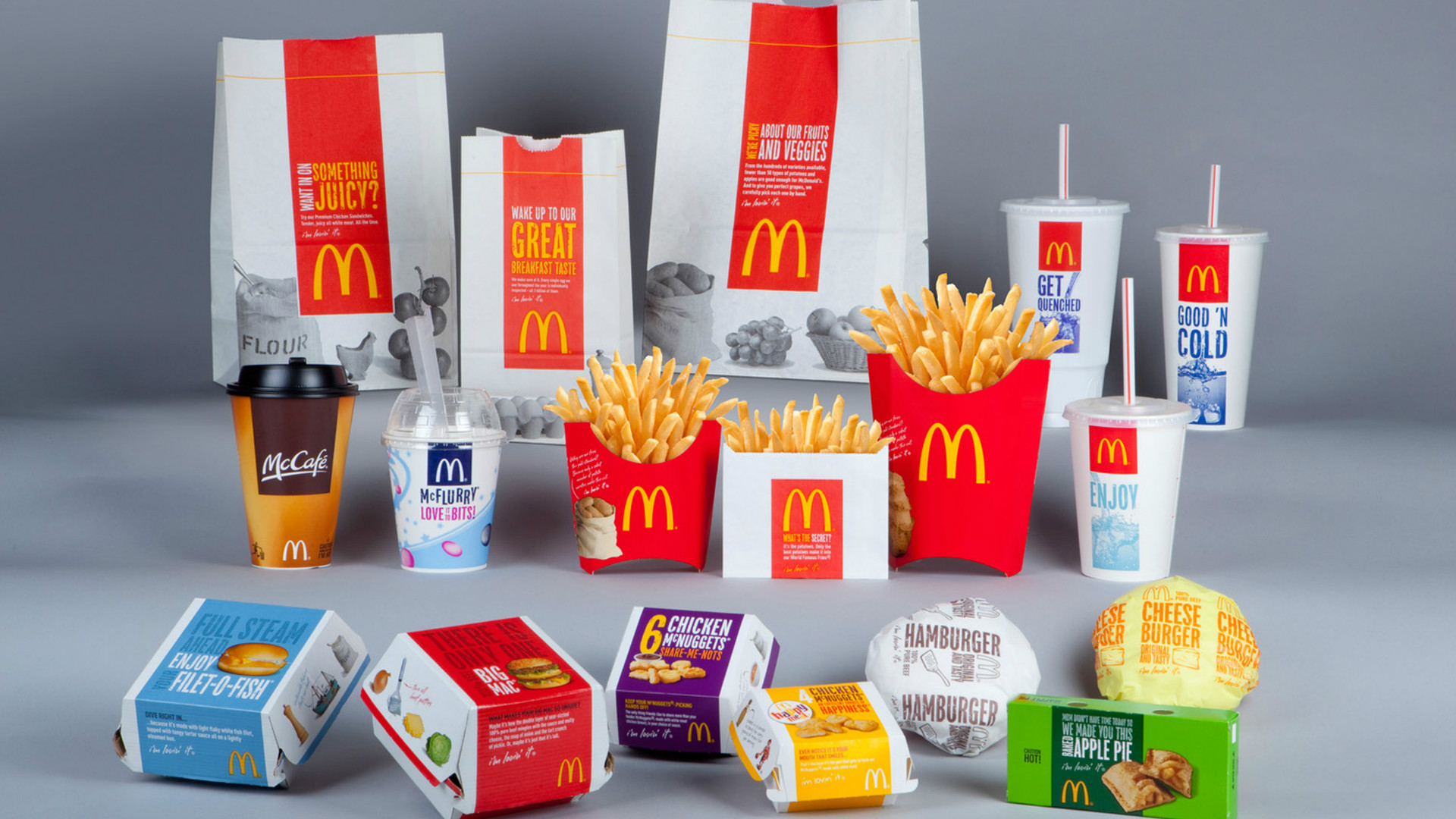 McDonald's entire range