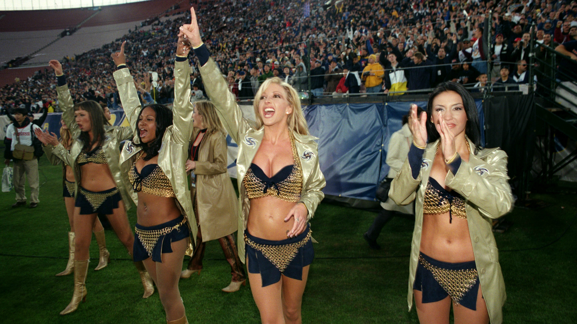The X-Rated XFL Cheerleaders That Put The NFL In The Shade