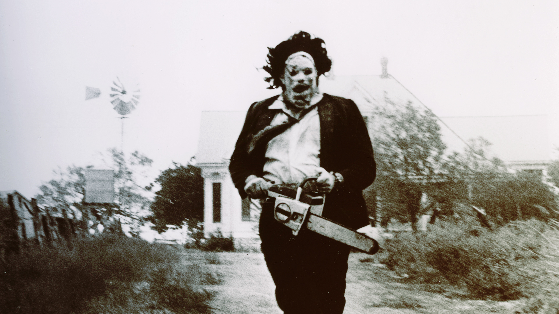 Leatherface from Texas Chainsaw massacre.