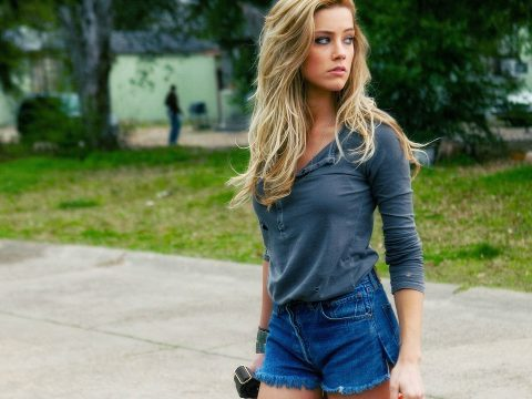 Amber Heard in Drive Angry.