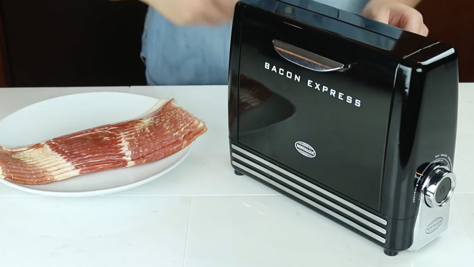 The bacon toaster